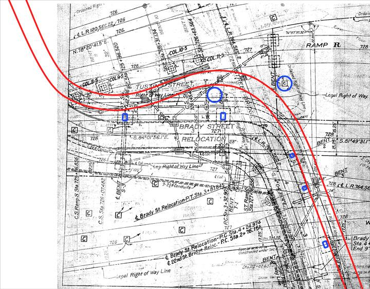 Envisioned Location of Brady Street Sidewalk